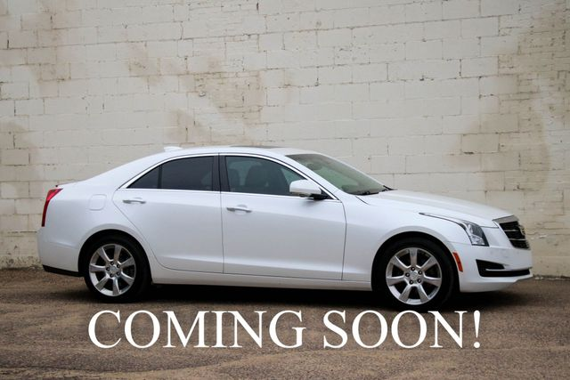 2015 Cadillac ATS-4 AWD Luxury Sports Car w/Navigation Heated Seats, Keyless Start and Bose Audio System in Eau Claire, Wisconsin 54703