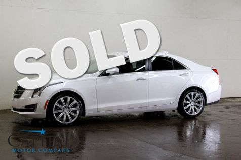 2015 Cadillac ATS-4 Premium AWD Luxury Sports Car w/Navigation, Head-Up Display, Heated Seats and Premium Audio in Eau Claire