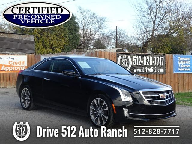 2015 Cadillac ATS Coupe Luxury Certified Vehicle