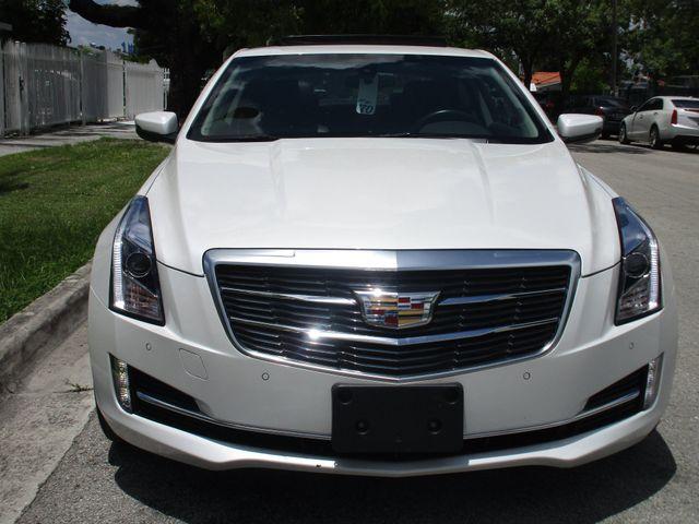 2015 Cadillac ATS Coupe Luxury AWD Miami, Florida 4