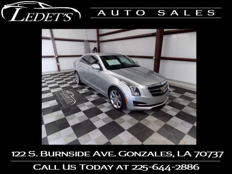 2015 Cadillac ATS Sedan Luxury RWD - Ledet's Auto Sales Gonzales_state_zip in Gonzales Louisiana