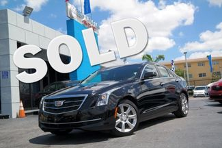 2015 Cadillac ATS Sedan Luxury RWD Hialeah, Florida