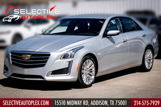 2015 Cadillac CTS Sedan Luxury AWD Back Up Camera