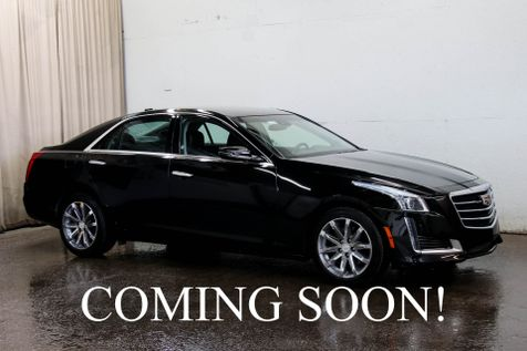 2015 Cadillac CTS-4 AWD Luxury Sport Sedan w/Backup Cam, Heated/Cooled Seats, Keyless Start & BOSE Audio in Eau Claire