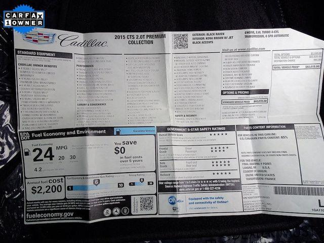 2015 Cadillac CTS Sedan Premium RWD Madison, NC 57