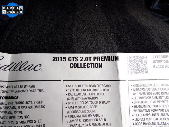2015 Cadillac CTS Sedan Premium RWD Madison, NC 58