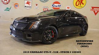 2015 Cadillac CTS-V Coupe AUTO,MOTOR MODS,ROOF,NAV,BACK-UP,RECARO,51K in Carrollton, TX 75006