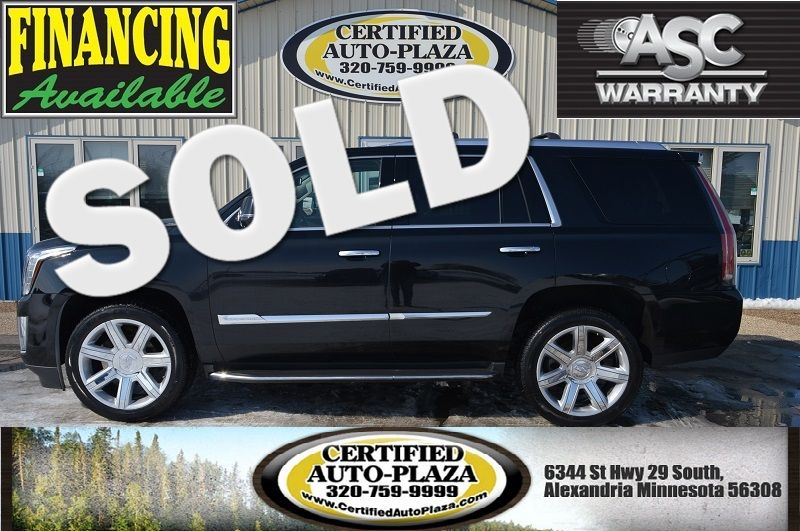 2015 Cadillac Escalade Luxury AWD in Alexandria Minnesota