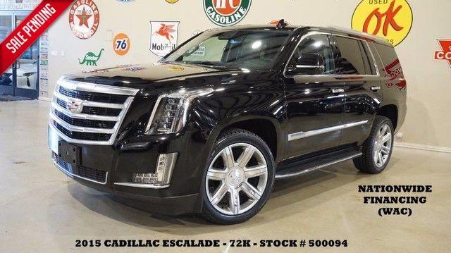 2015 Cadillac Escalade Premium HUD,ROOF,NAV,360 CAM,REAR DVD,QUADS,22'...