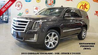 2015 Cadillac Escalade Premium 4WD HUD,ROOF,NAV,360 CAM,REAR DVD,QUADS... in Carrollton TX, 75006