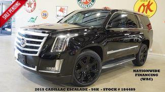 2015 Cadillac Escalade Luxury HUD,ROOF,NAV,REAR DVD,QUADS,BLK 22'S,56K! in Carrollton TX, 75006