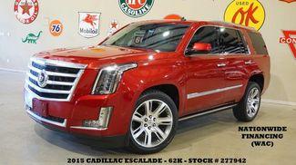 2015 Cadillac Escalade Premium HUD,ROOF,NAV,REAR DVD,QUADS,22'S,62K! in Carrollton TX, 75006