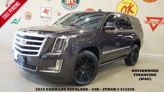 2015 Cadillac Escalade Premium 4WD HUD,ROOF,NAV,360 CAM,REAR DVD,33K