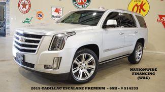 2015 Cadillac Escalade Premium 4WD HUD,ROOF,NAV,360 CAM,REAR DVD,65K in Carrollton TX, 75006