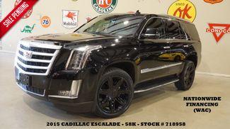 2015 Cadillac Escalade Luxury HUD,ROOF,NAV,360 CAM,REAR DVD,BLK 22'S,58K in Carrollton TX, 75006