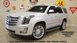 2015 Cadillac Escalade Platinum 4WD HUD,ROOF,NAV,360 CAM,REAR DVD,45K in Carrollton TX, 75006