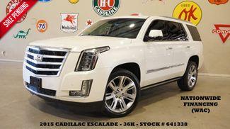 2015 Cadillac Escalade Premium 4WD HUD,ROOF,NAV,360 CAM,REAR DVD,36K in Carrollton, TX 75006