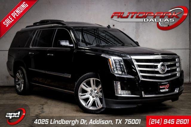 2015 Cadillac Escalade ESV Premium CUSTOM Executive Rear Seat