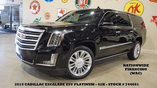 2015 Cadillac Escalade ESV Platinum 4WD HUD,ROOF,NAV,360 CAM,REAR DVD,22'S... in Carrollton TX, 75006