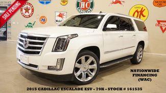 2015 Cadillac Escalade ESV Premium 4WD HUD,ROOF,NAV,REAR DVD,22'S,79K in Carrollton, TX 75006