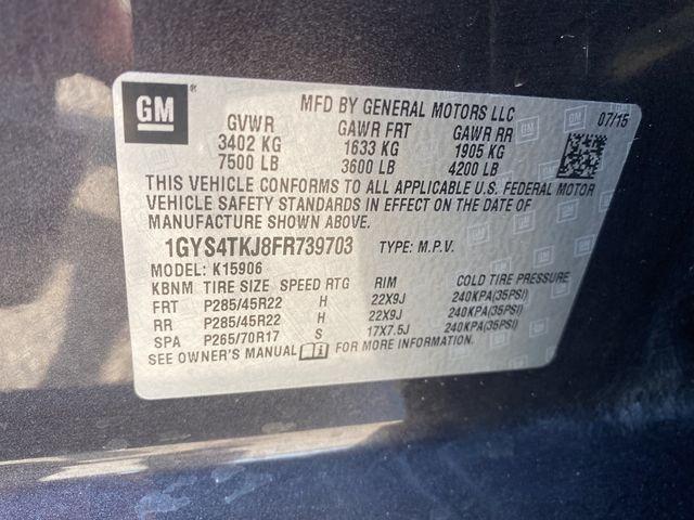 2015 Cadillac Escalade ESV Premium Madison, NC 56