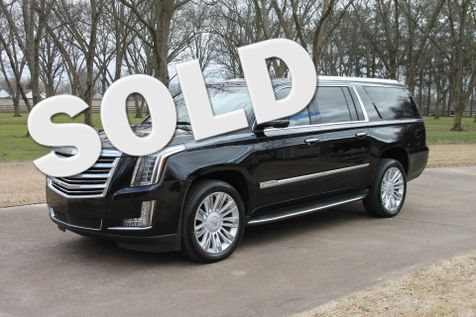 2015 Cadillac Escalade ESV Platinum 4WD 8 Passenger in Marion, Arkansas