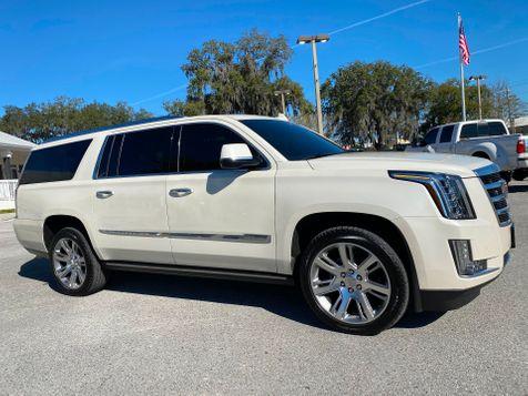 2015 Cadillac Escalade ESV ESV PREMIUM AWD KONA LEATHER POWER STEPS CARFAX in Plant City, Florida