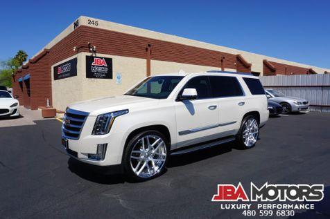 2015 Cadillac Escalade Luxury 4WD 4x4 SUV Diamond White LOW MILES | MESA, AZ | JBA MOTORS in MESA, AZ