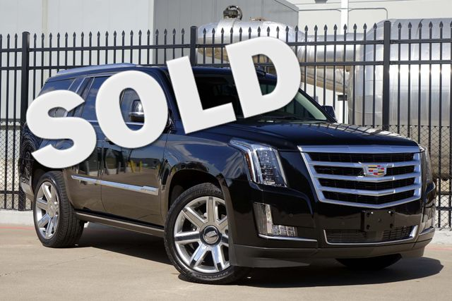 2015 Cadillac Escalade PREMIUM * Pwr Boards * 22s * DVD * 25k Miles * WOW Plano, Texas
