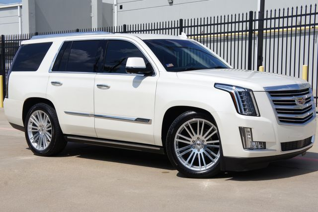 2015 Cadillac Escalade Platinum 4x4 * SUPERCHARGED * Lowered *PURE CUSTOM