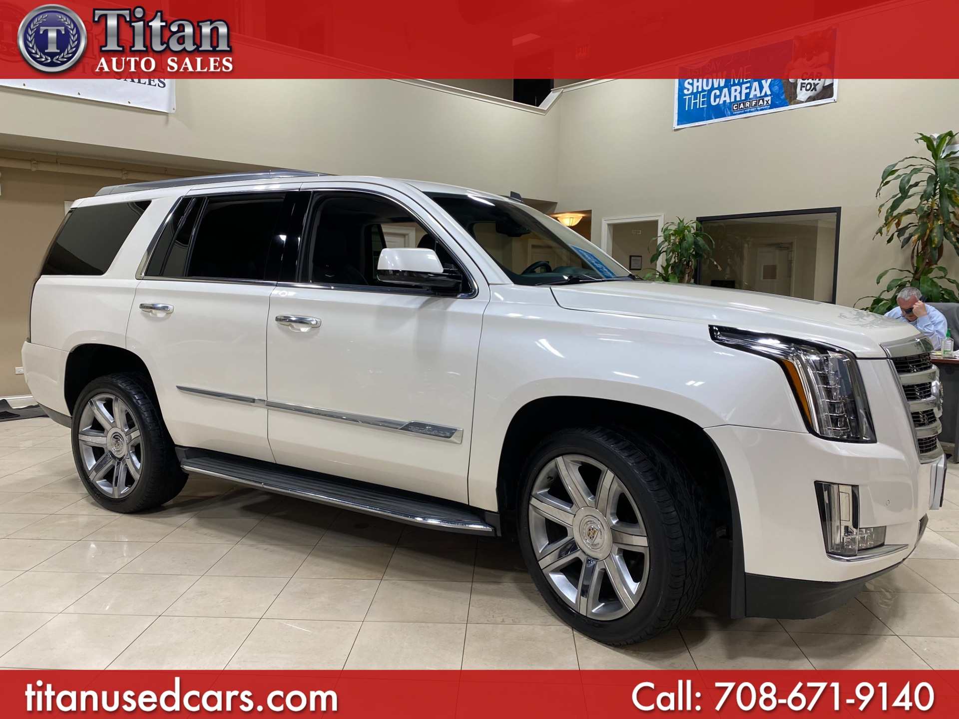 Used Cadillac Escalade Worth Il