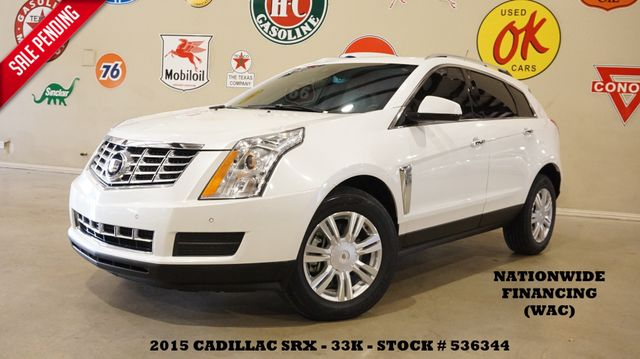 2015 Cadillac SRX Luxury Collection ULTRA ROOF,BACK-UP CAM,HTD LTH,33K