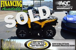 2015 Can-Am Outlander in Alexandria Minnesota