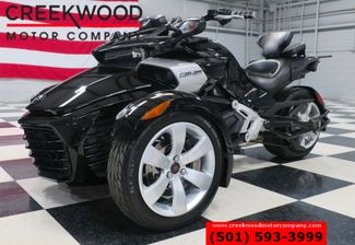 2015 Can-Am Spyder F3 Trike 3 Wheeler Black 1 Owner Low Miles CLEAN in Searcy, AR 72143