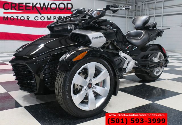 2015 Can-Am Spyder F3 Trike 3 Wheeler Black 1 Owner Low Miles CLEAN