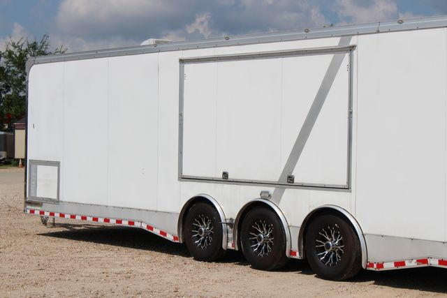 2015 Cargo Mate Eliminator - 32 32' ENCLOSED CAR HAULER CONROE, TX 10