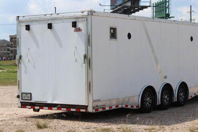 2015 Cargo Mate Eliminator - 32 32' ENCLOSED CAR HAULER CONROE, TX 18