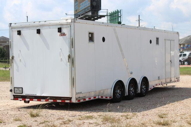 2015 Cargo Mate Eliminator - 32 32' ENCLOSED CAR HAULER CONROE, TX 20