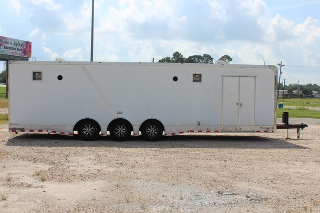 2015 Cargo Mate Eliminator - 32 32' ENCLOSED CAR HAULER CONROE, TX 21