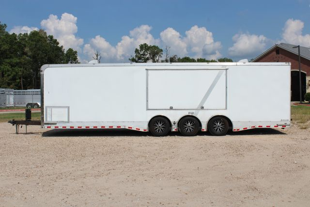 2015 Cargo Mate Eliminator - 32 32' ENCLOSED CAR HAULER CONROE, TX 7