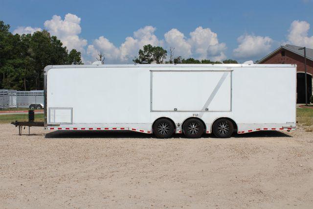 2015 Cargo Mate Eliminator - 32 32' ENCLOSED CAR HAULER CONROE, TX 8