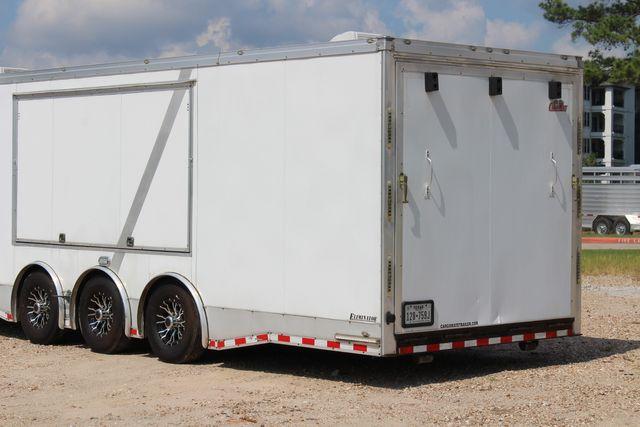 2015 Cargo Mate Eliminator - 32 32' ENCLOSED CAR HAULER CONROE, TX 11