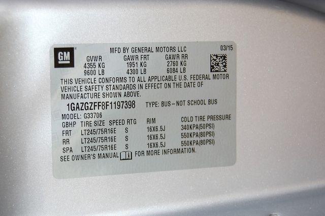 2015 Chevrolet 12 Pass. LS Charlotte, North Carolina 19