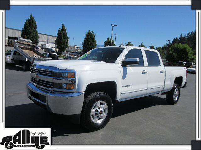 2015 Chevrolet 2500 HD Silverado C/Cab 4WD 6.6L Diesel in Burlington WA, 98233