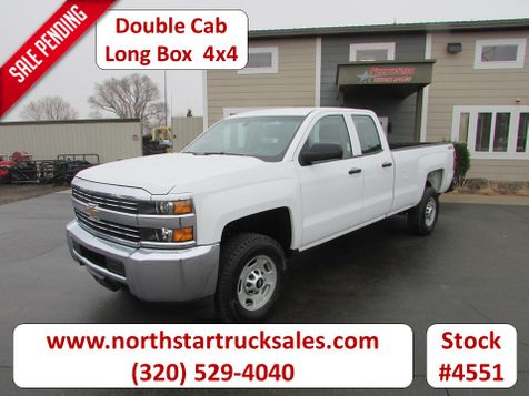 2015 Chevrolet 2500HD 4x4 Double Cab Long Box Pickup  in St Cloud, MN