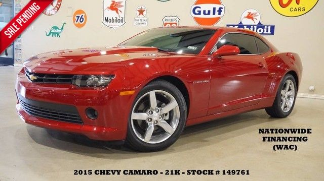 2015 Chevrolet Camaro 1LT Coupe REMOTE START,BACK-UP CAM,CLOTH,POLISH...