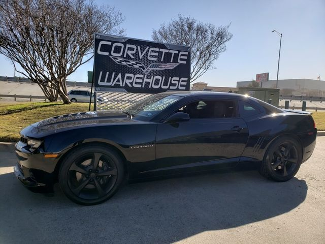 2015 Chevrolet Camaro coupe 1SS, RS Pkg, Manual, NAV, Black Alloys 67k in Dallas, Texas 75220
