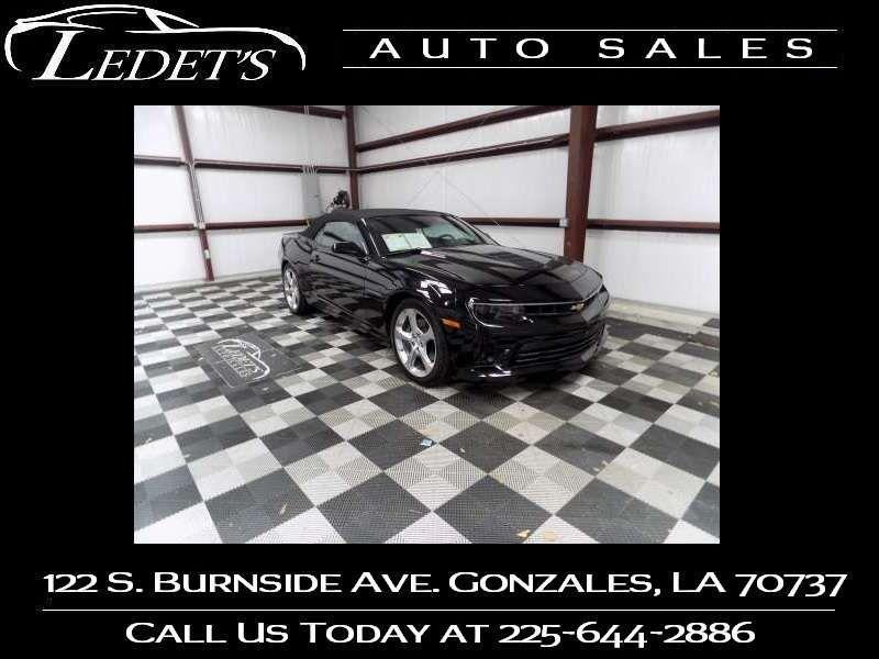 2015 Chevrolet Camaro SS - Ledet's Auto Sales Gonzales_state_zip in Gonzales Louisiana