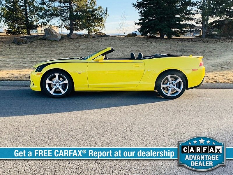 2015 Chevrolet Camaro 2d Convertible SS2  city MT  Bleskin Motor Company   in Great Falls, MT