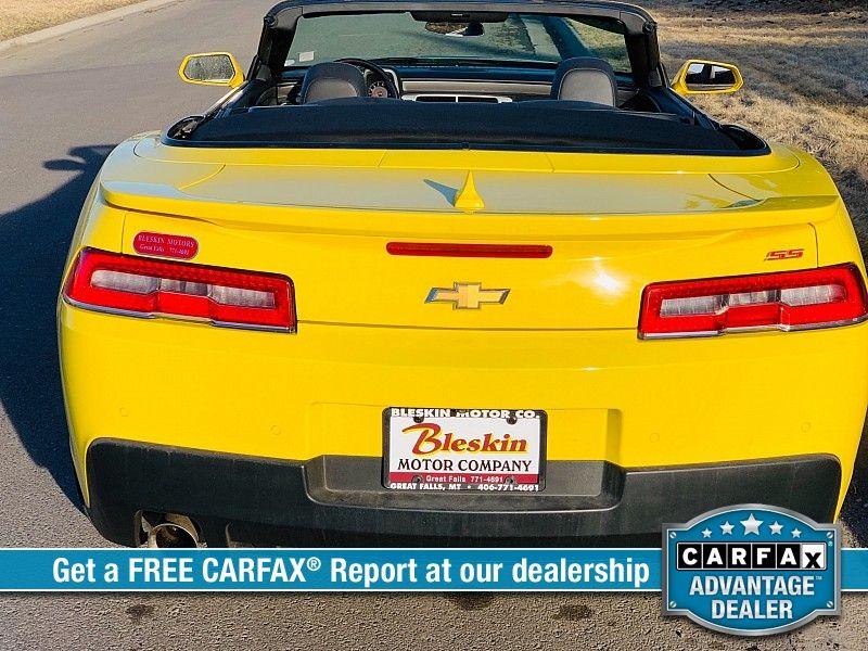 2015 Chevrolet Camaro 2d Convertible SS2  city MT  Bleskin Motor Company   in Great Falls, MT